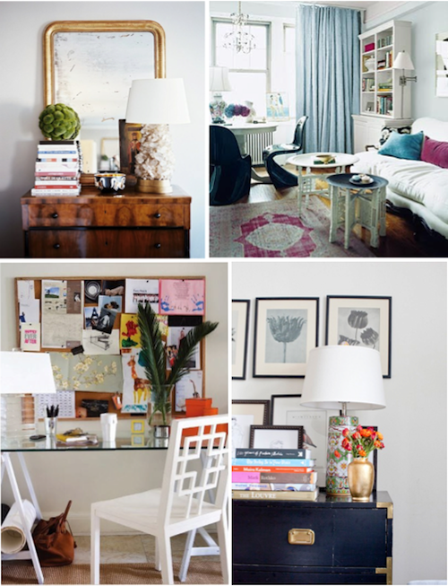 Idea Board Apartment Living Design Darling: decorating my first apartment