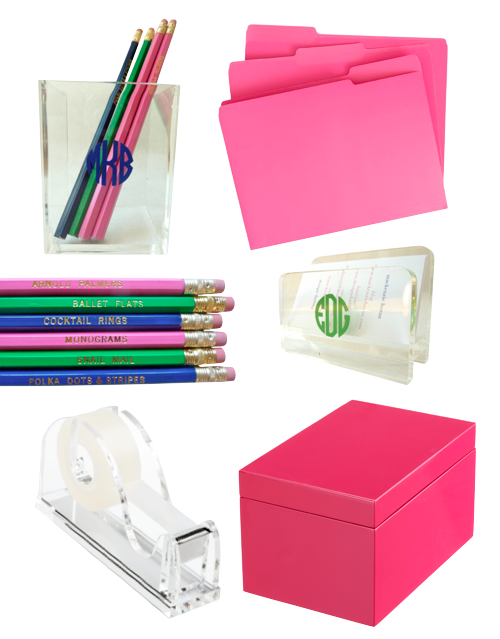 Three tricks for decorating your desktop design darling cup 14 container store file folders 3 for six design darling thingswelove pencil set 8 design darling monogrammed acrylic business card holder colourmoves