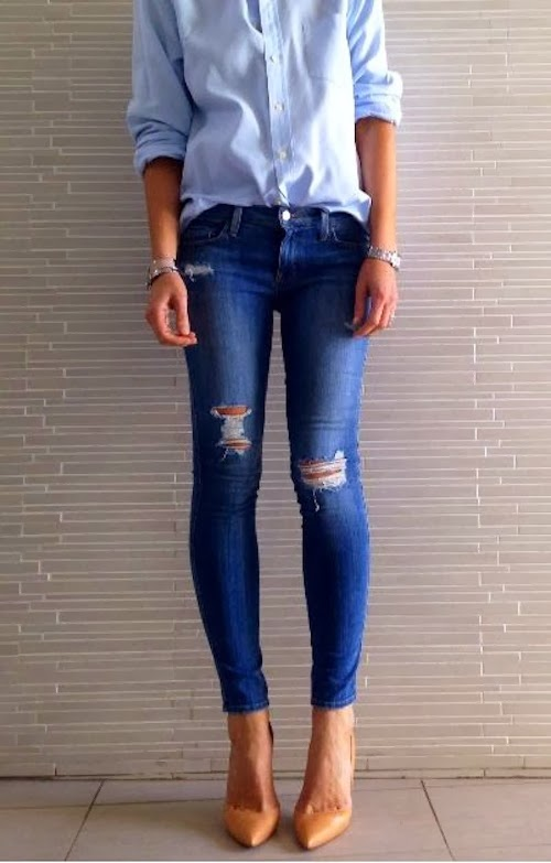 impactful skinny jeans outfits