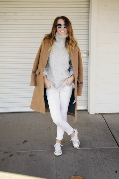 BEST WHITE JEANS FOR WINTER - Design Darling