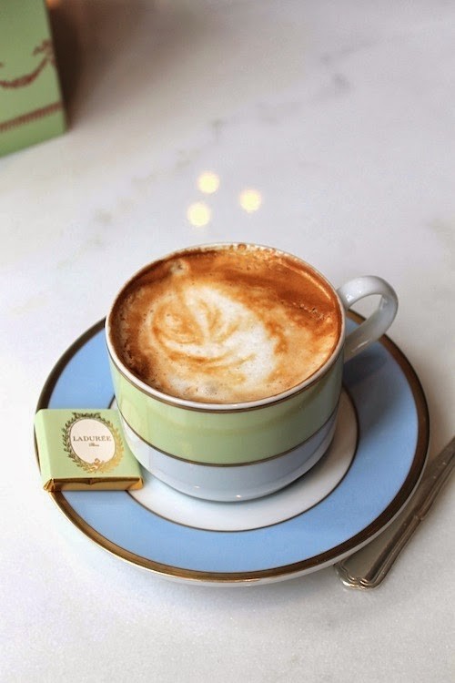 laduree latte soho