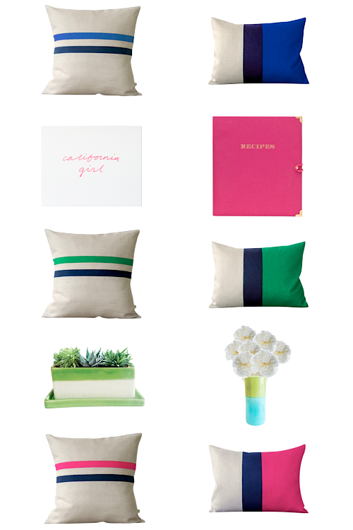 design darling pillows