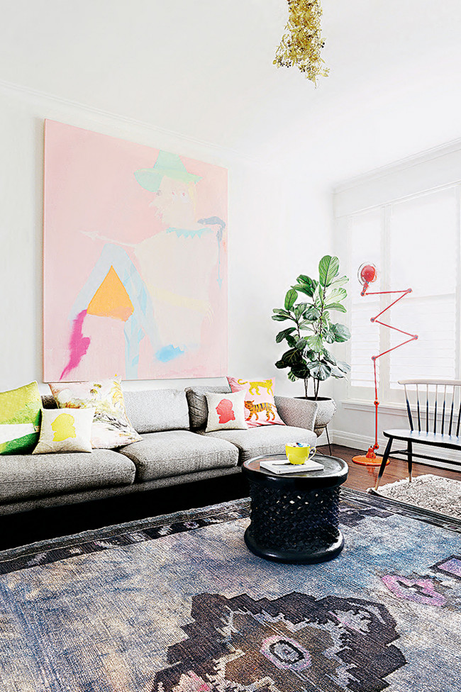 Inside Out Interiors Style Sunday: SHOP THE ROOM: COLORFUL MELBOURNE APARTMENT