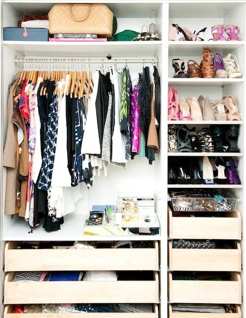 THE EASIEST WAY TO CLEAN OUT YOUR CLOSET | Design Darling | Bloglovin\'