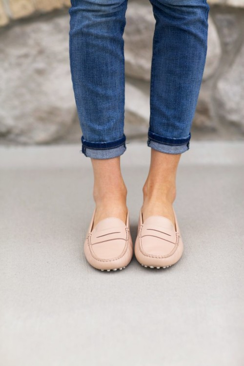 tod's driving loafers