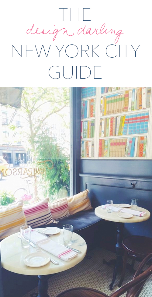 design darling new york city guide