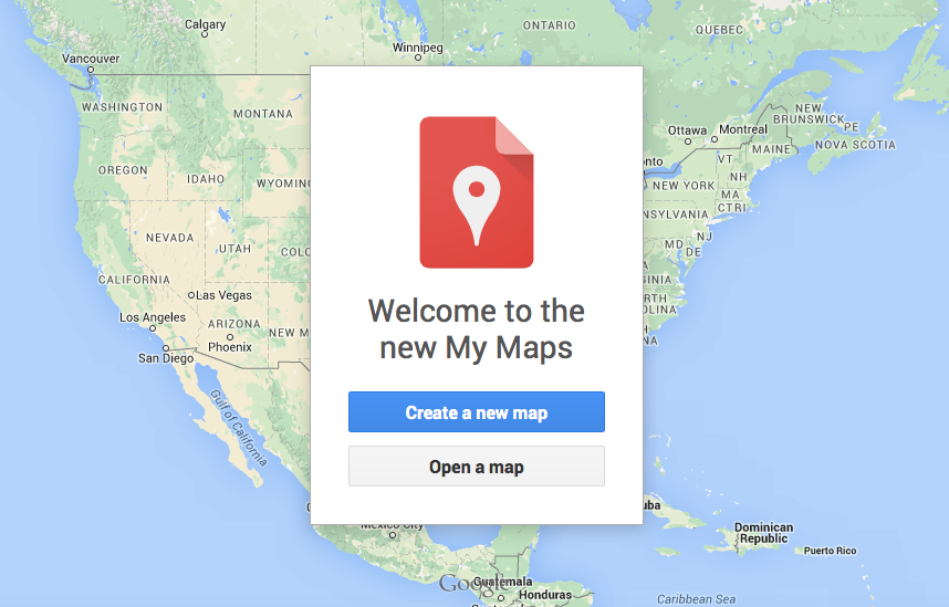 how to create your own city map google my maps