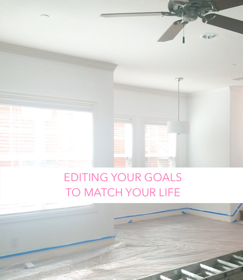 design darling | editing your goals to match your life