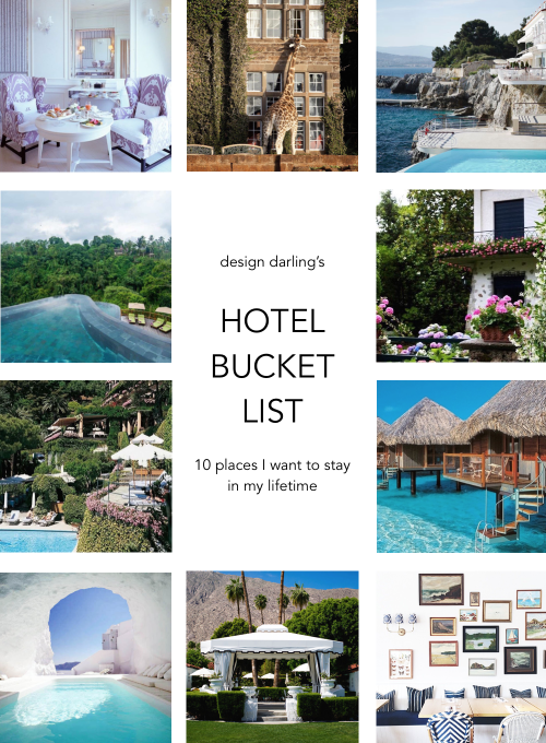 design darling hotel bucket list