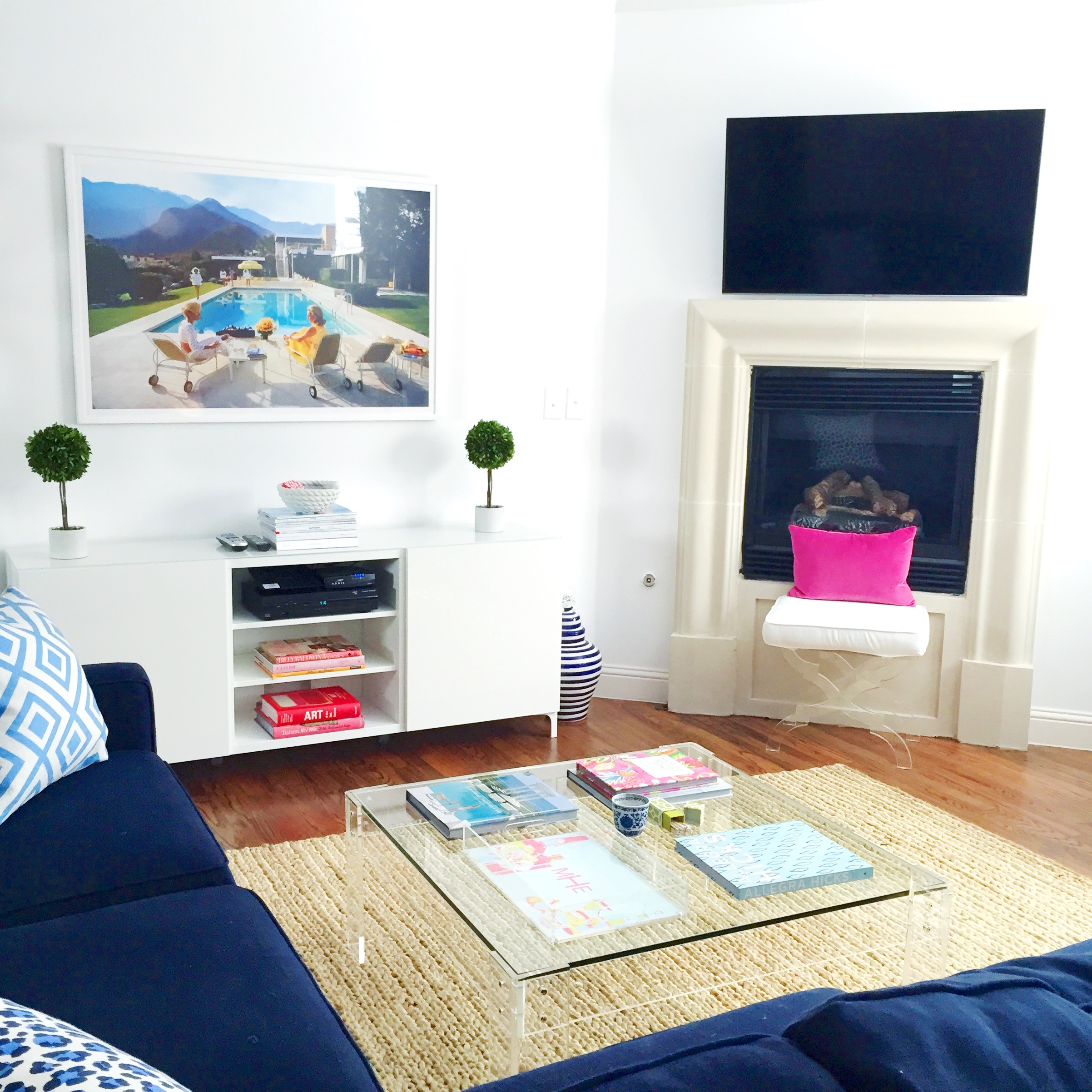 LIVING ROOM UPDATES! - Design Darling