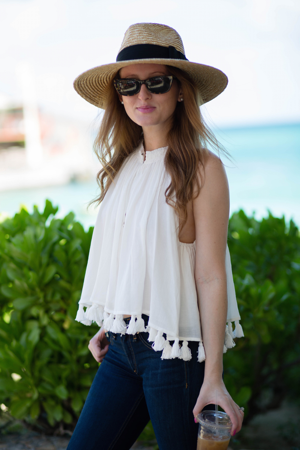 apiece apart tassel top