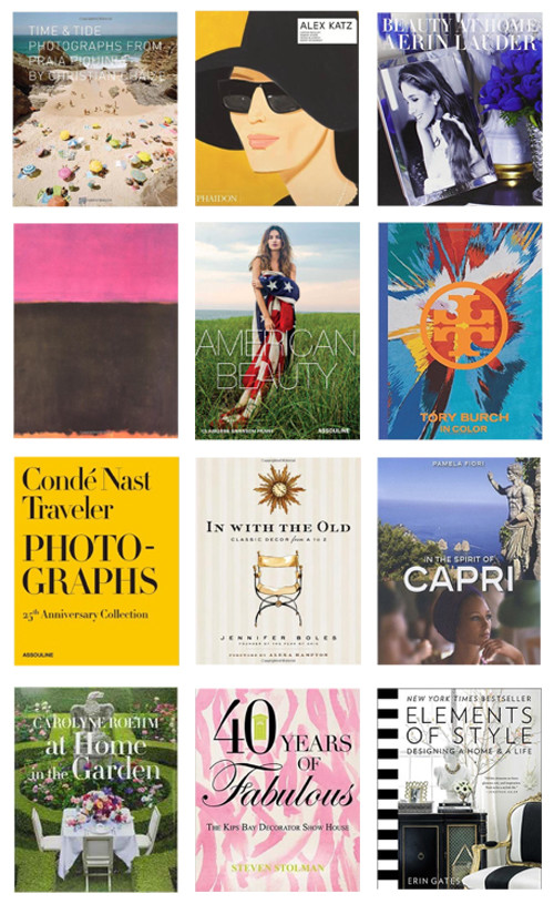 12 coffee table books i want to add to my collection - design darling