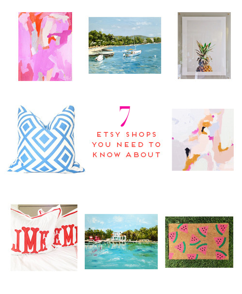 7 ETSY SHOPS YOU NEED TO KNOW ABOUT - Design Darling