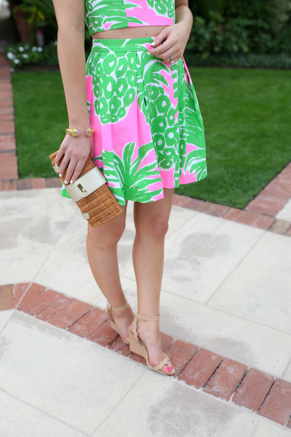 lilly pineapple print design darling