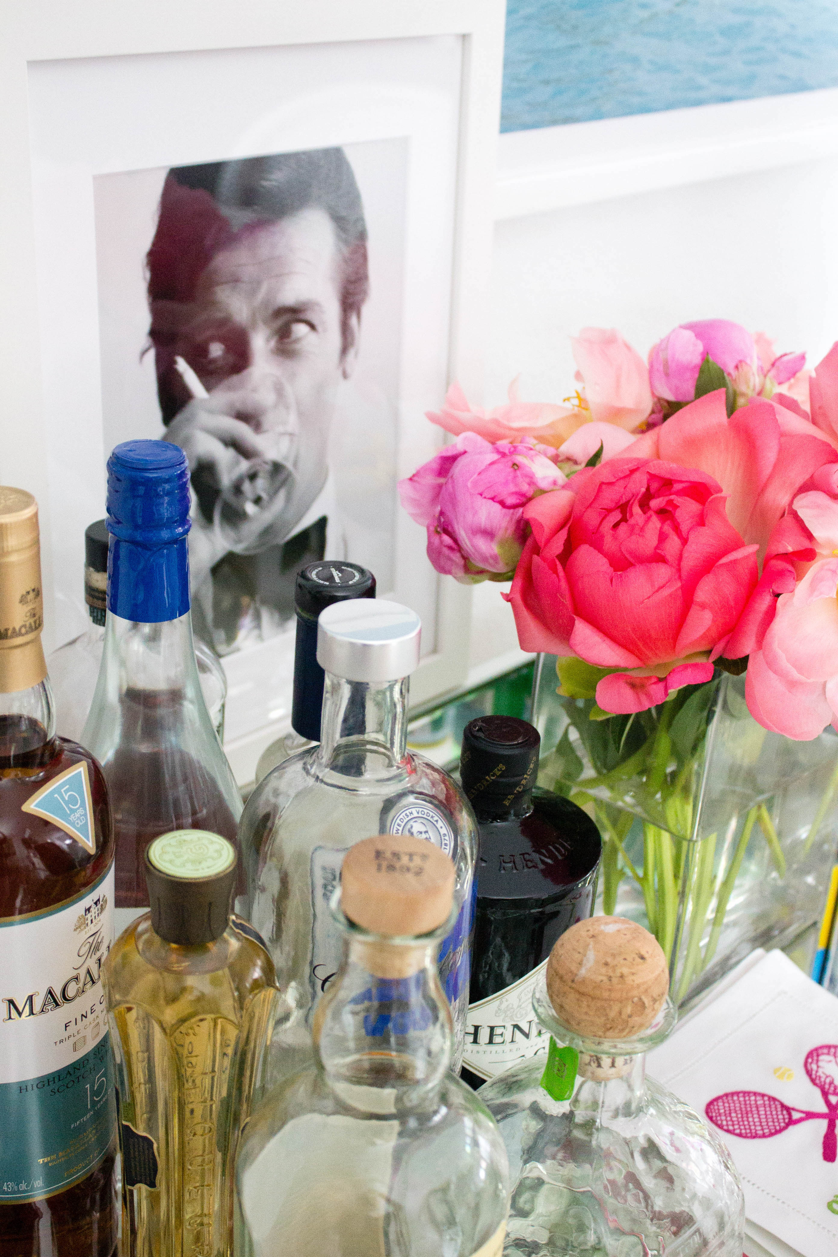 design darling how to style a bar cart