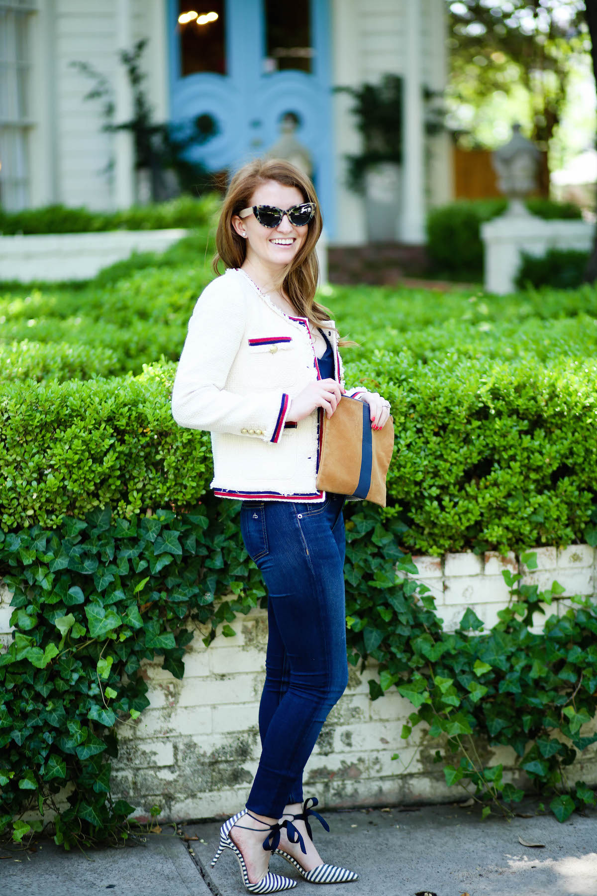 a1fd96625d1 OUTFIT  J.CREW FRINGY TWEED JACKET