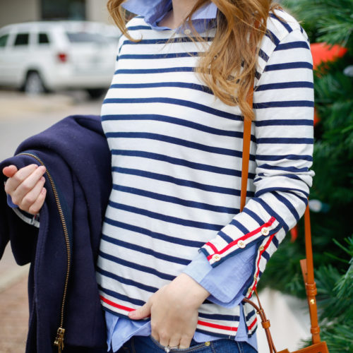 j-crew-navy-striped-shirt-with-red-trim-on-design-darling