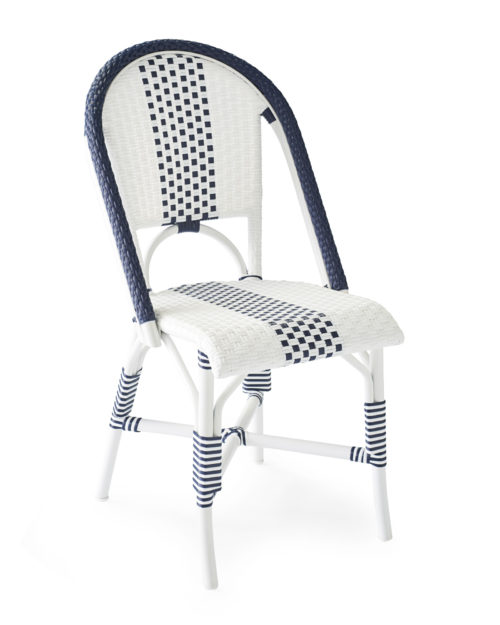Furn_Outdoor_Riviera_Side_Chair_Navy_Stripe_Angle_MV_Crop_SH