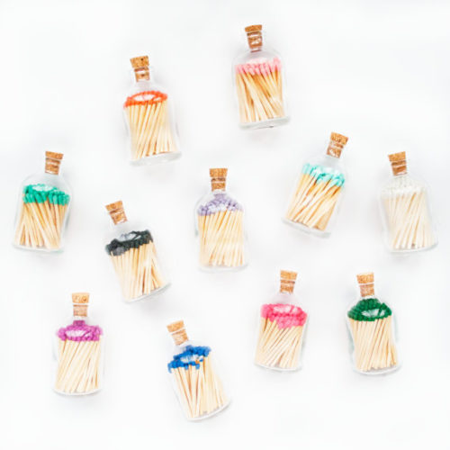 matchsticks in a jar