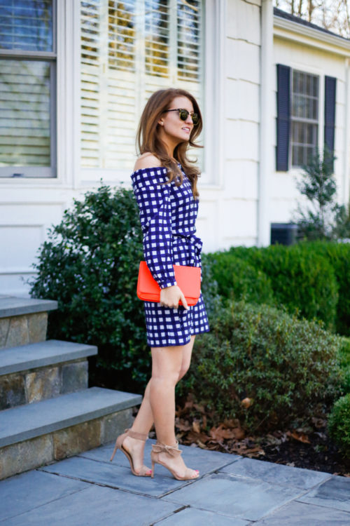 banana republic gingham dress on design darling