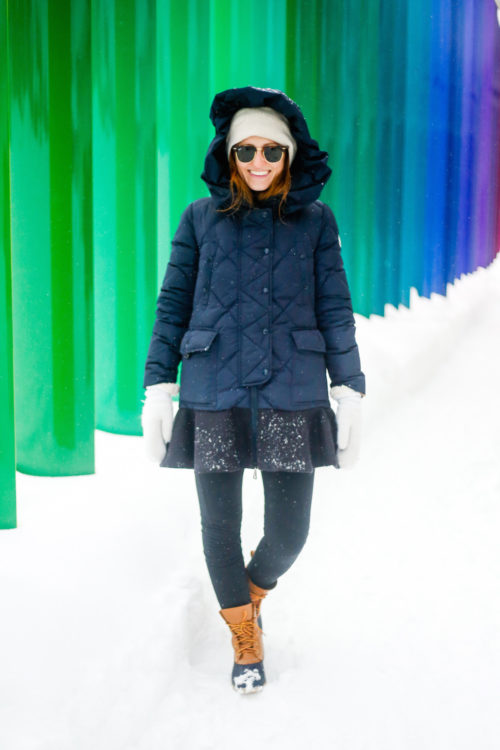 design darling moncler vouglette peplum coat in finland