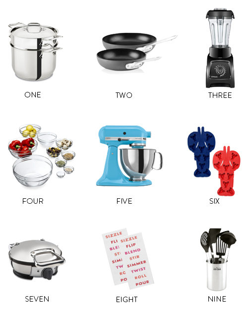 Bloomingdales Wedding Registry.Bloomingdale S Kitchen Items Wedding Registry Design Darling