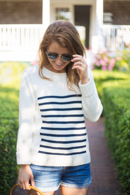 j.crew the 1988 striped rollneck sweater on design darling