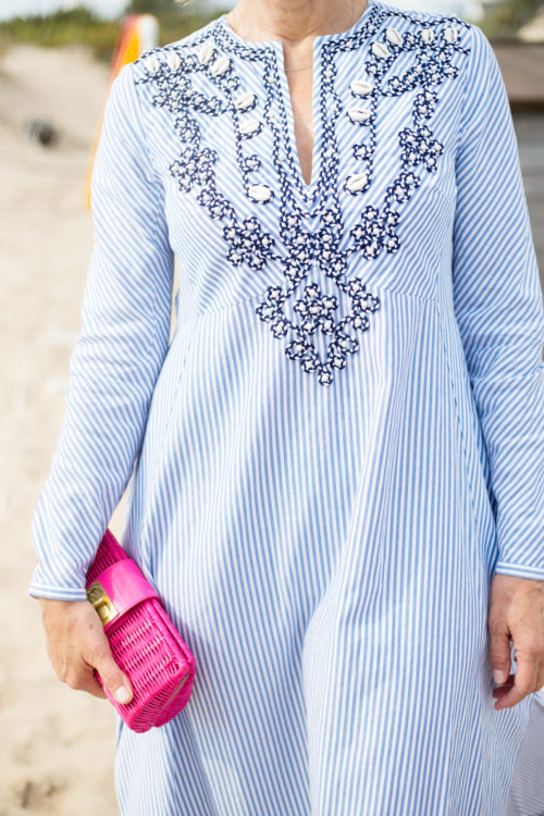 tory burch dress at ocean house beach polo