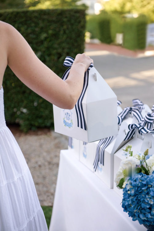 design darling wedding welcome boxes