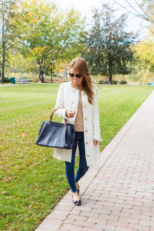 sail to sable ivory tweed coat on design darling