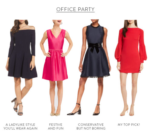 what to wear to office holiday party