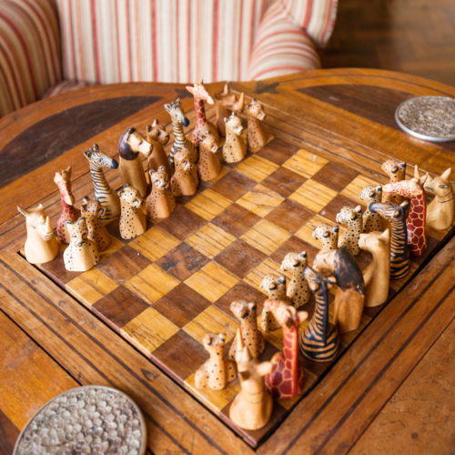 giraffe manor chess board