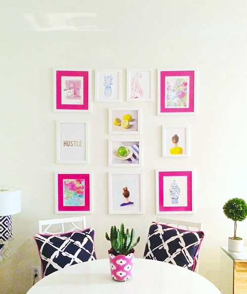 design darling gallery wall