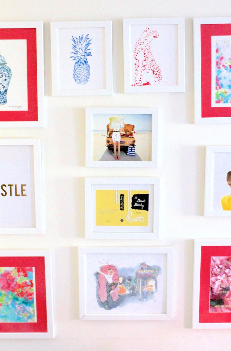 Kate Spade Store Gallery Wall Art Prints Design Darling