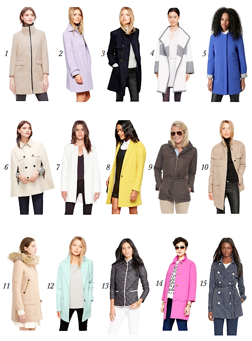 15 chic and colorful winter coats