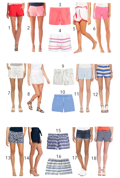 design darling summer shorts guide