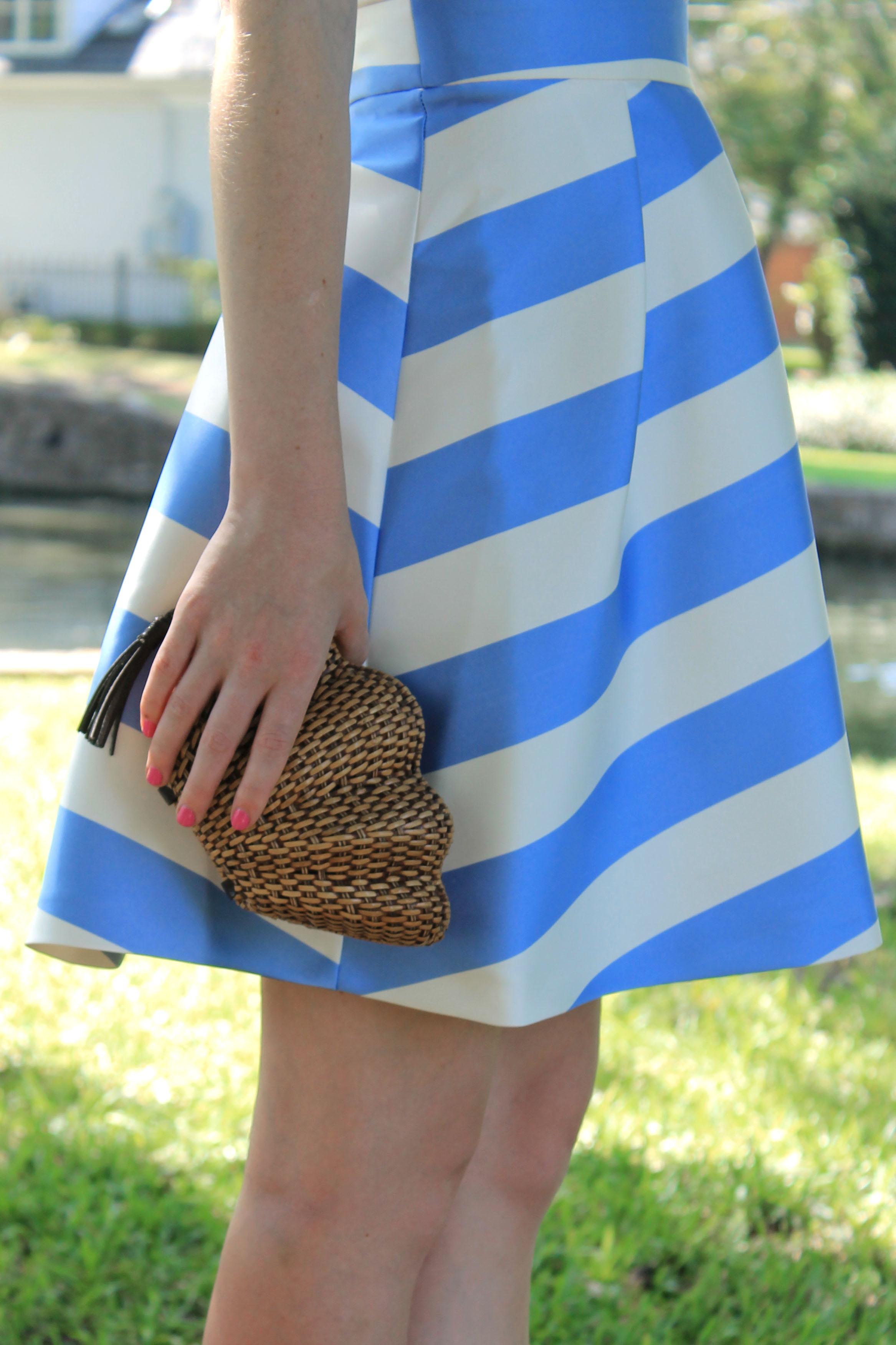 739ecafbff nordstrom topshop stripe v neck cutout dress - Design Darling
