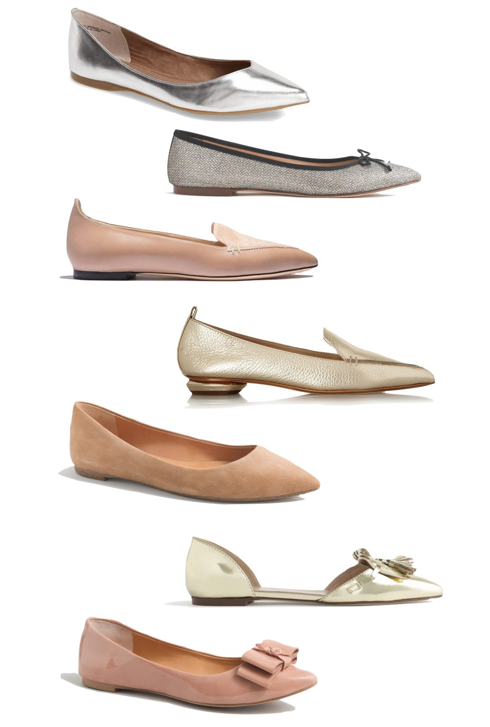 pointed toe flats for fall