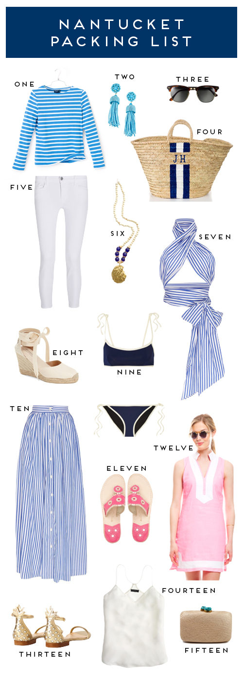 design darling nantucket packing list