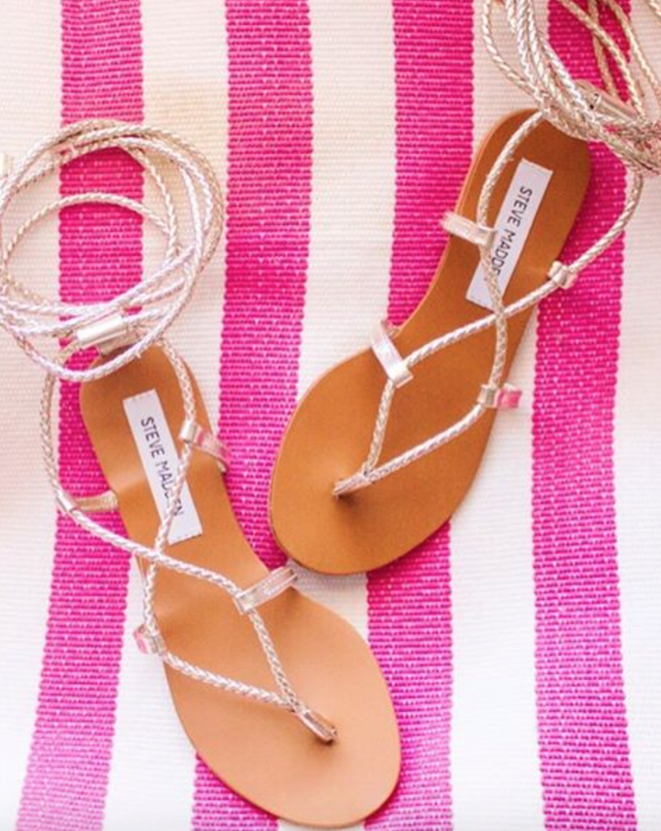 steve madden gold werkit sandals