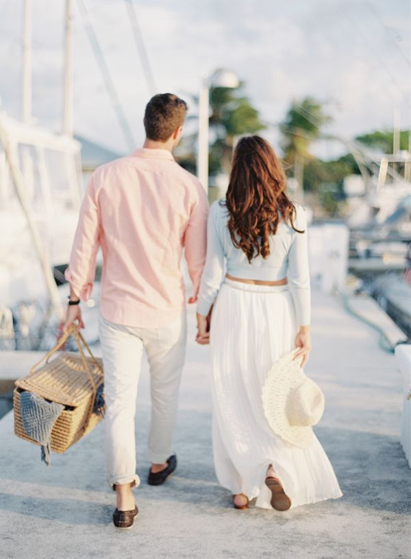 sailboat engagement pictures