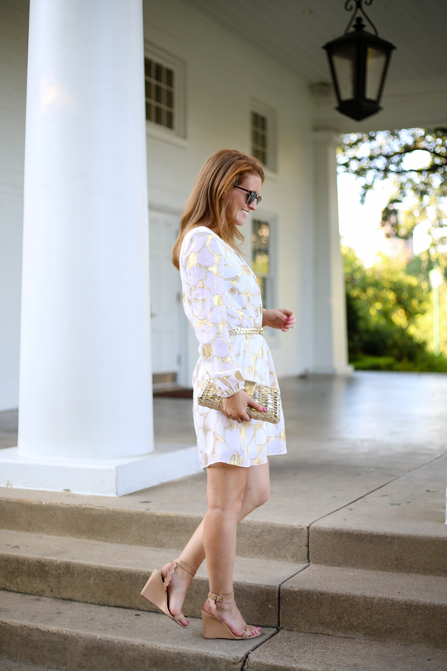 a221cb3b42fb8f lilly-pulitzer-colby-sleeved-tunic-dress -and-loeffler-randall-piper-wedges-on-design-darling