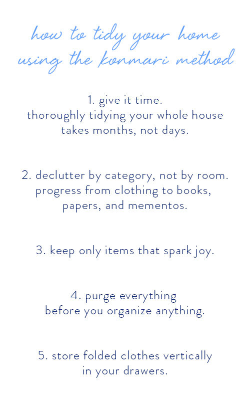 konmari-method-checklist-for-tidying-your-home