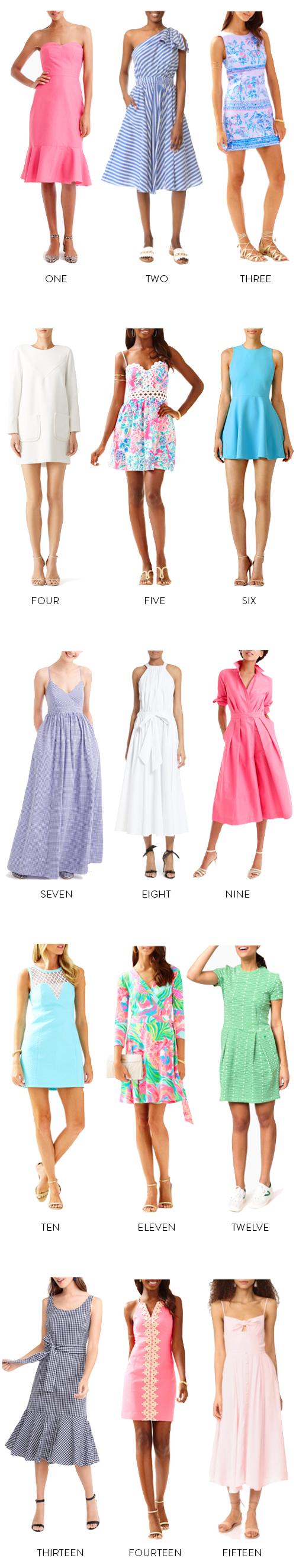 colorful preppy easter dresses on design darling