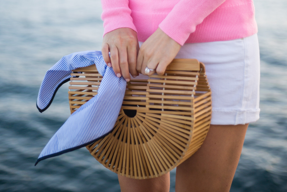 cult-gaia-ark-bag-mds-stripes-scarf-pink-sweater-with-white-shorts-on-design-darling