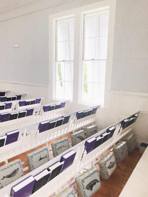 siasconset union chapel needlepoint kneelers