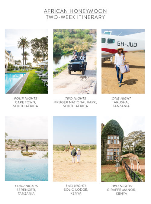 OUR SAFARI HONEYMOON ITINERARY + PACKING LIST - Design Darling