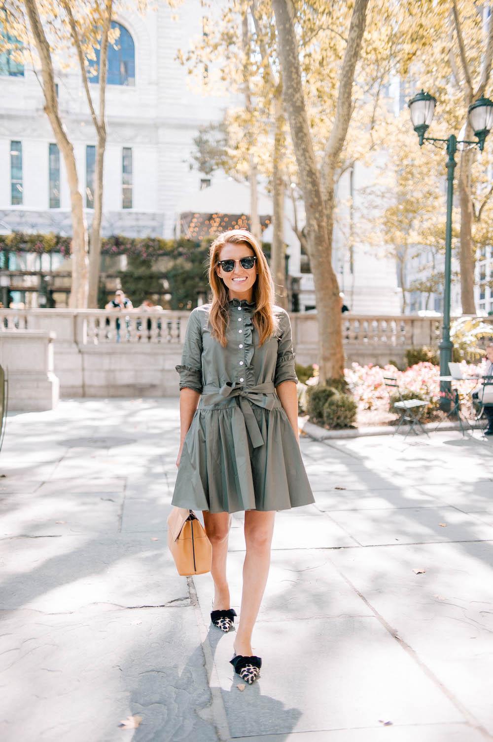 42c8f89a237 design-darling-fashion-week-kate-spade-ruffle-neck-poplin-dress ...