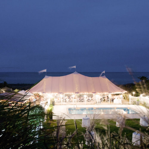 design darling nantucket wedding tent at summer house