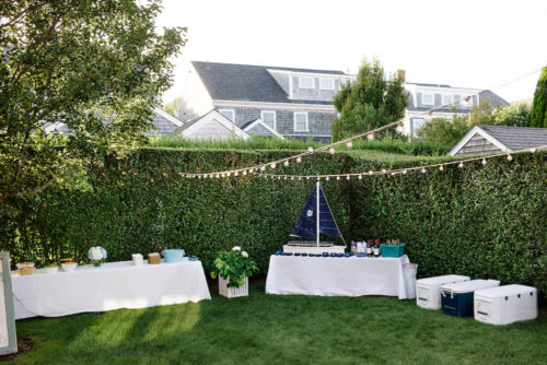design darling nantucket welcome party